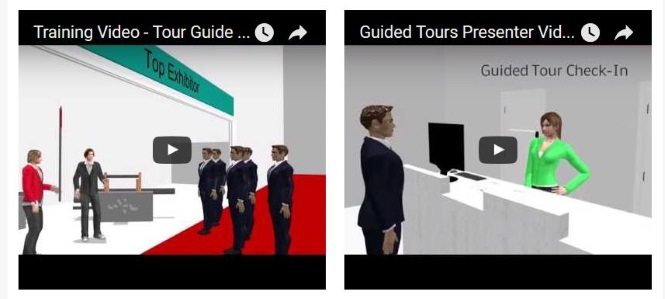 Guided Tours Video Foto klein
